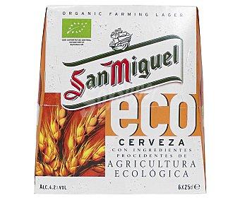 San Miguel Cerveza ecológica Pack 6x25 cl