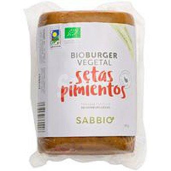 Sabbio Bio burguer de setas-pimiento Bandeja 750 g