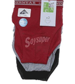 Tex Slip liso algodón lycra niño Pack 3 unidades