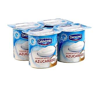 Danone Yogur natural azucarado Pack 4 x 120 g - 480 g