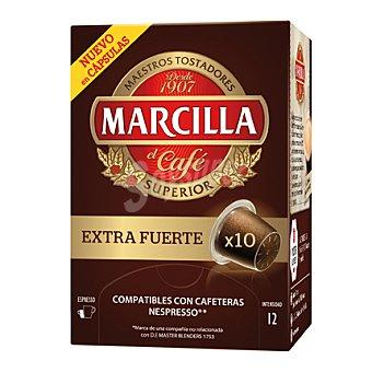Marcilla Café extrafuerte 10 unidades