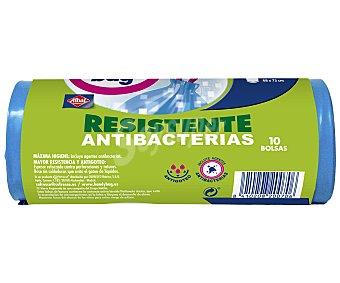 Handy Bag Bolsa Basura Antibacterias Capacidad 50 litros 10 bolsas