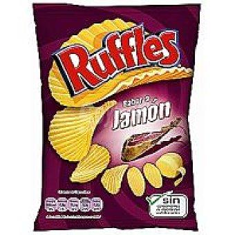 Matutano Ruffles Ruffles jamón Bolsa 45 g