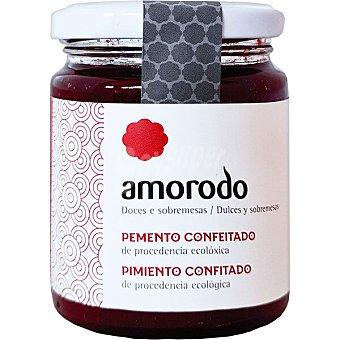 AMORODO Mermelada de pimiento confitado de procedencia ecológica frasco 255 G frasco 255 g