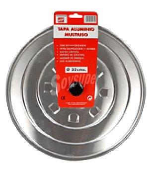 Carrefour Tapa aluminio multi.tecnho26cm 1 ud