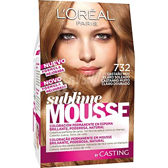 Sublime L'Oréal Paris Tinte nº 732 Castaño muy Claro Soleado 1 ud