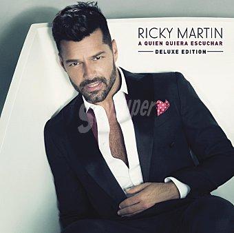"""Ricky Martin """"A quien quiera"""" CD 1 ud"""
