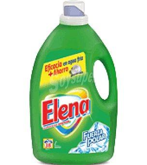 Elena Detergente Liquido Fuerza Polar 38 lavados