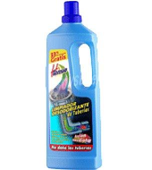 Htensio Limpiador desodorizante tuberias Botella 1l