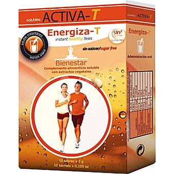 ACTIVA-T Energiza-T Bienestar sin azúcar envase 10 sobres