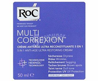 ROC Multicorrexion Crema ultra reconstituyente antienvejecimiento 50 Mililitros