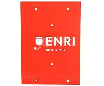 ENRI Bloc de notas tamaño A6, 80 hojas de 60 gramos 1 Unidad.