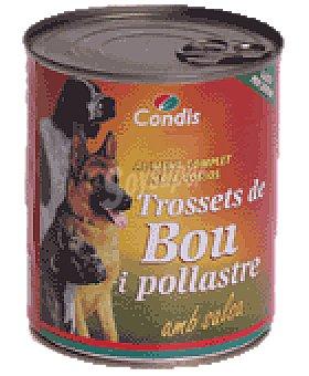 Condis Com.perros buey-pollo 830 GRS