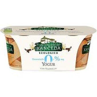 Casa Grande de Xanceda Yogur eco de vainilla desnatado 0% Pack 2 x 125 g