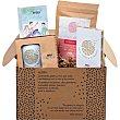 Alegría Superfood kit incluye taza, preparado en polvo ecológico estuche 576 g con juego de las emociones de Elsa Punset e infusión momento happy estuche 576 g Santiveri