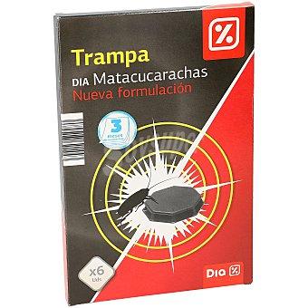 DIA Insecticida trampa cucarachas Caja 6 u