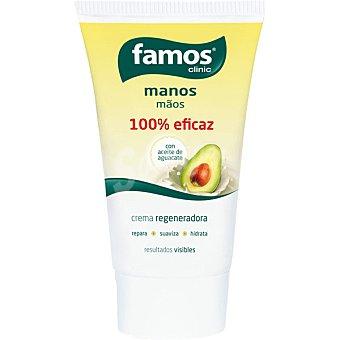 Famos Crema de manos regeneradora con aceite de aguacate Tubo 100 ml