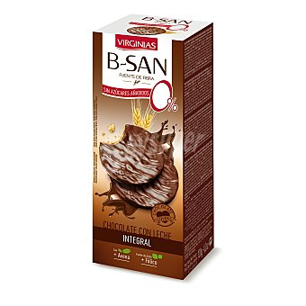 Virginias Galletas b-san con chocolate sin azúcar 120 g