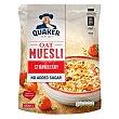 Muesli con fresa, sin azúcares añadidos 600 g Quaker