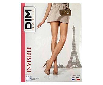 DIM Panty 11 den, color bronce, talla 2.