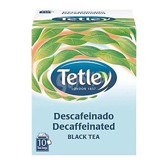 Tetley té negro descafeinado 10 bolsitas Estuche 15 g