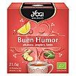 Infusión Buen humor 12 ud Yogi Tea