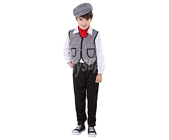 Rubie's Disfraz infantil de chulapo, incluye: camisa, chaleco, pantalón y gorra , talla 1-2 años 1 unidad
