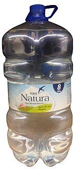 FONT NATURA Agua mineral natural Garrafa de 8 l