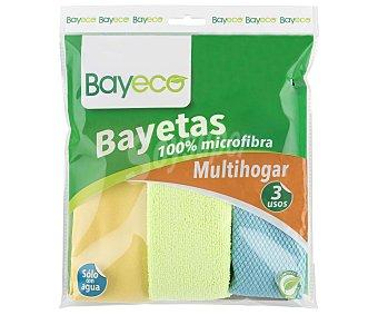 Bayeco Bayetas de microfibra 3 unidades
