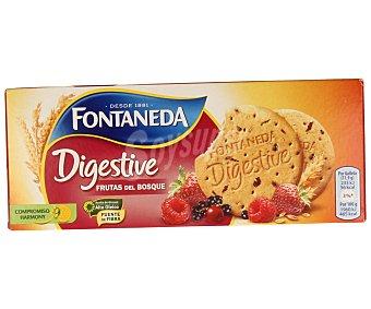Fontaneda Galletas digestive con frutas del bosque 275 gramos