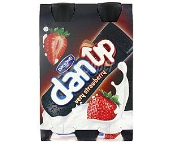 Danone Yogur líquido fresa Dan Up 4x160ml