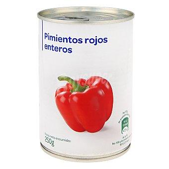 Carrefour Pimientos rojos enteros 250 g