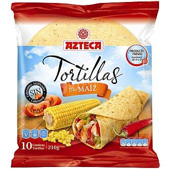 Azteca Tortilla de maíz Envase 210 g