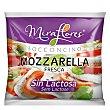 Queso mozzarella fresca sin lactosa 125 G 125 g Miraflores