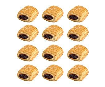 Napolitana Mini rellena de chocolate 12 uds