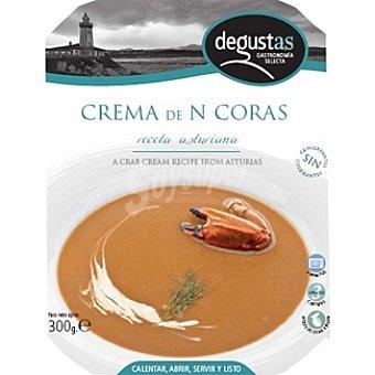 DEGUSTAS Crema de nécoras receta asturiana Envases 300 g