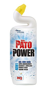 Pato Limpiador gel wc gel con lejia Botella 750 ml