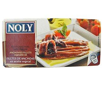 Noly Filetes de anchoa en aceite vegetal 45 Gramos