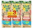 Zumo de melocotón y soja de origen 100% vegetal 3 x 25 cl Vivesoy