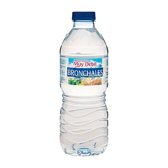 Bronchales Agua mineral natural Botella 500 cc