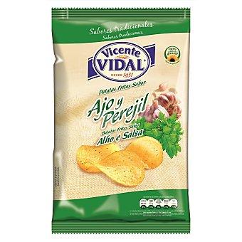 Vidal Patatas fritas ajo y perejil bolsa 135GR Bolsa 135GR