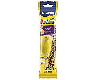 Vitakraft Barritas para canarios con sabor a frutas 60 g