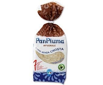 PAN PIUMA Pan de molde integral 400 Gramos