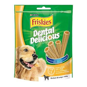 Friskies Purina Dental Delicius mediano para perros Paquete 200 g