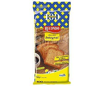 Recondo Biscottes integrales 750 gramos