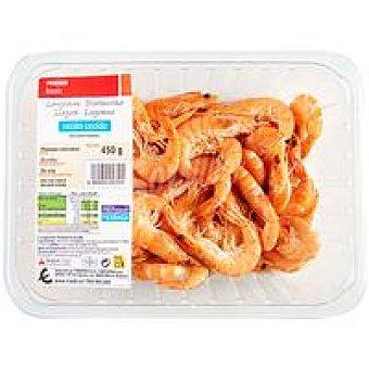 Eroski Basic Langostino cocido 80-100 Bandeja 450 g