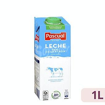 Pascual Leche semidesnatada Envase 1 lt