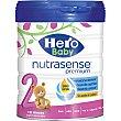 Nutrasense 2 Premium desde 6 meses sin aceite de palma bote 800 g bote 800 g Hero Baby