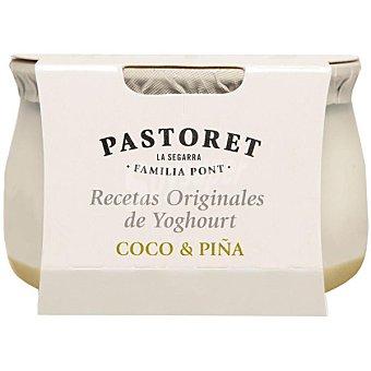 El Pastoret Yogur con coco y piña Envase 150 g