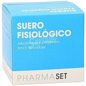 Pharmaset Suero fisiológico unidosis Caja 30 u